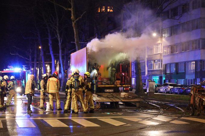 BFM Brand Belgielei Antwerpen