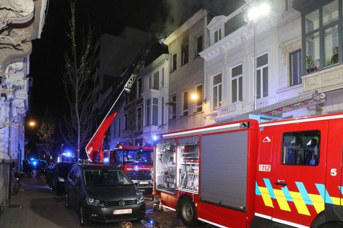 BFM Brand Jozef Liesstraat Antwerpen