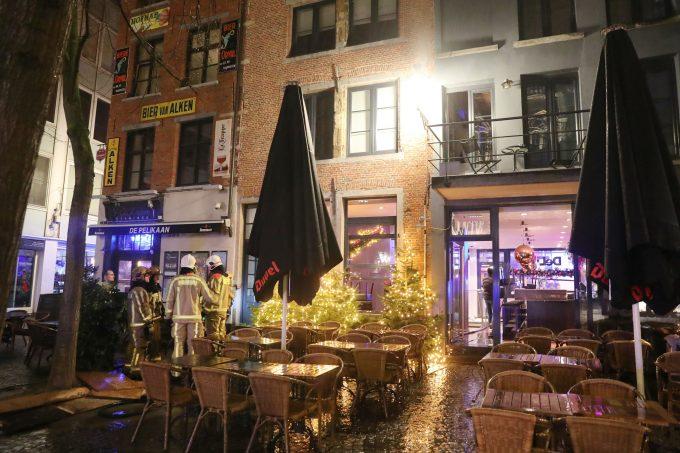 BFM Brand Lijnwaadstraat Antwerpen
