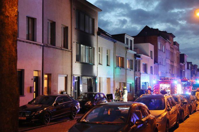 BFM Brand Limburgstraat Antwerpen