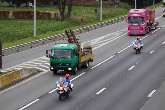 BFM Brandweerconvoy E313 Ranst