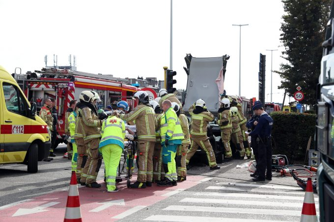 BFM Ongeval A12 Aartselaar