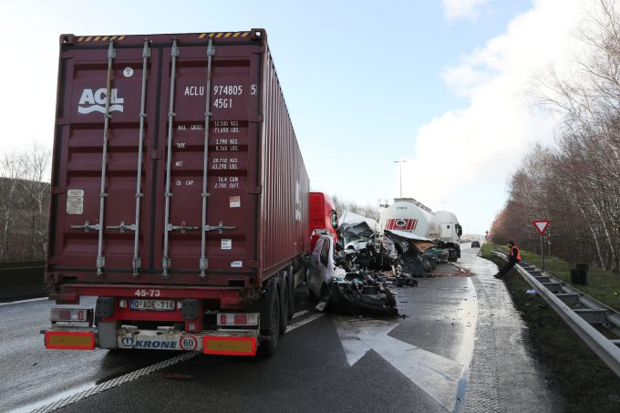 BFM Ongeval A12 Hoevenen