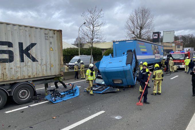 BFM Ongeval A12 Wilrijk