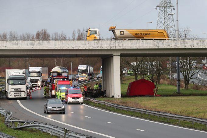 BFM Ongeval A12  Zandvliet