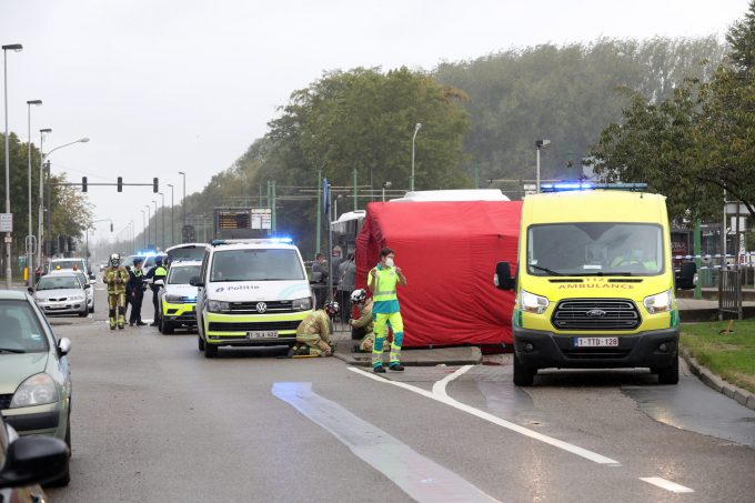BFM Ongeval Blancefloerlaan Antwerpen
