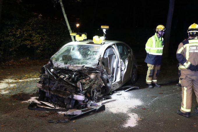 BFM Ongeval Donksesteenweg brasschaat