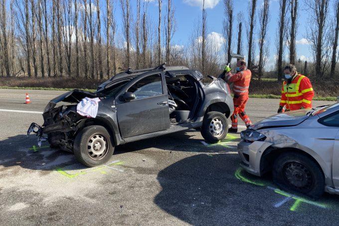 BFM Ongeval E19 Kontich