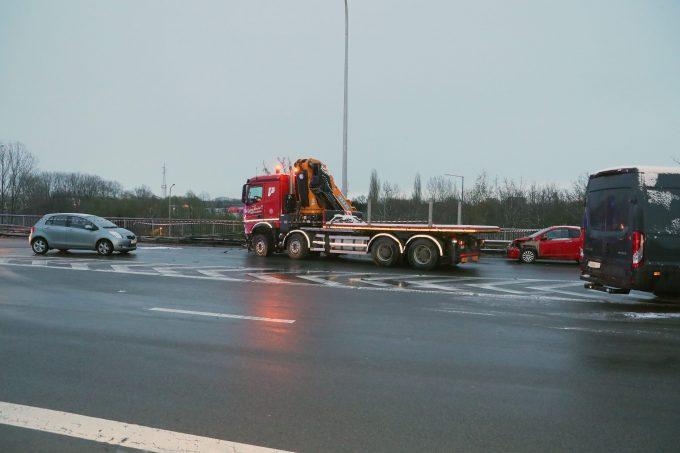 bFM Ongeval E19 Mechelen