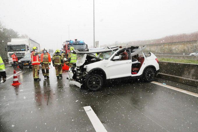 BFM Ongeval E19 Schoten