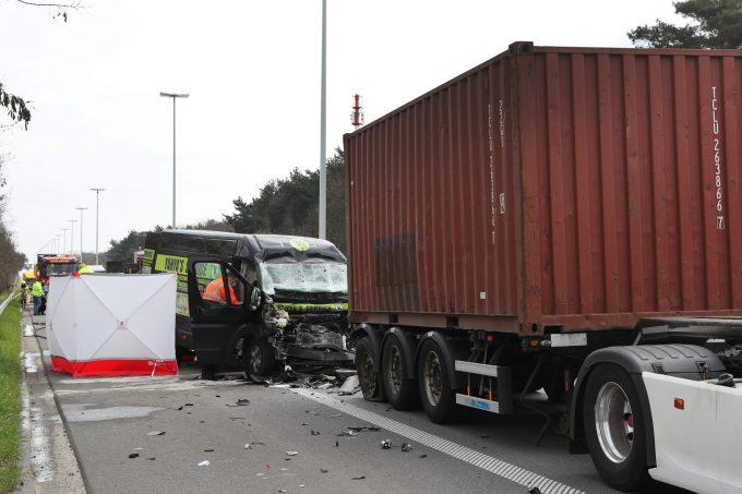 BFM Ongeval E313 Geel Oost