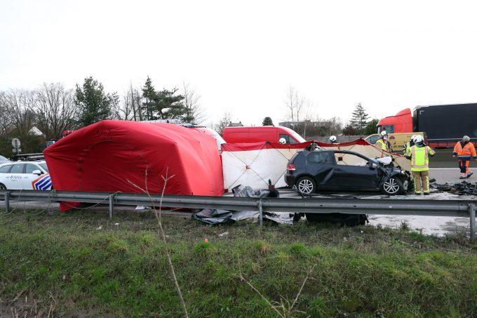 BFM Ongeval E313 Massenhoven