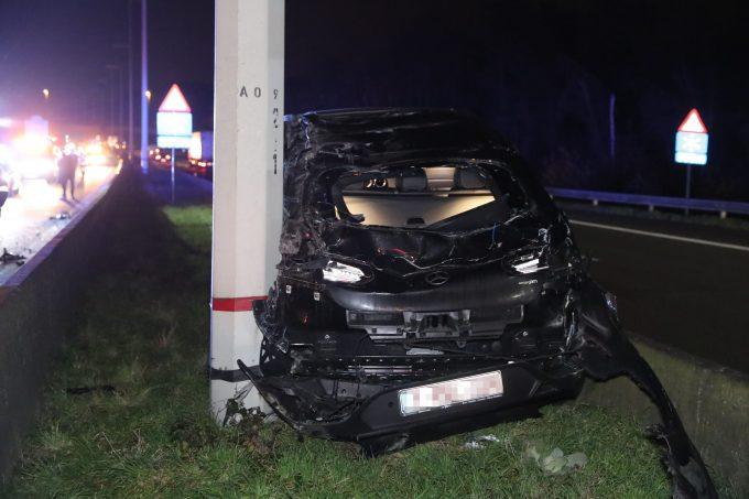 BFM Ongeval E313 Ranst