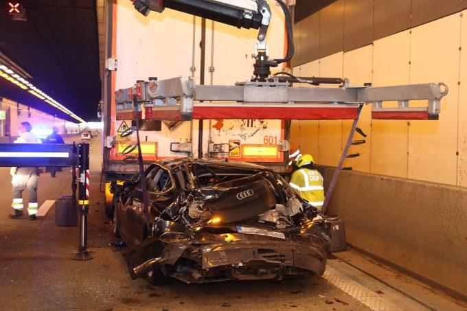 BFM Ongeval Kennedytunnel