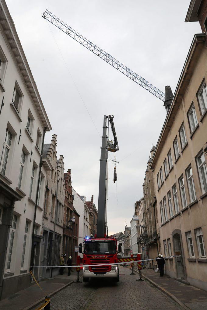 BFM Ongeval Torenspits Antwerpen