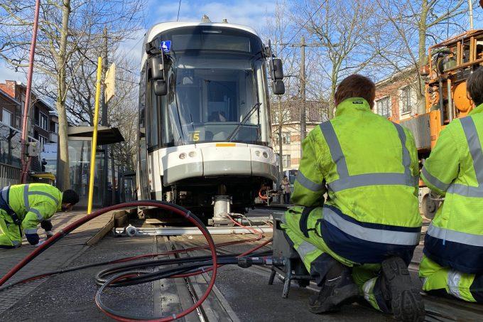 BFM Ongeval Tram Mortsel 09