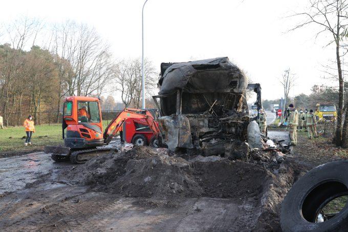 BFM Vrachtwagenbrand E34 Vorselaar